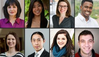 Eight 2020 graduate fellows, including HST student, pursue diverse paths.